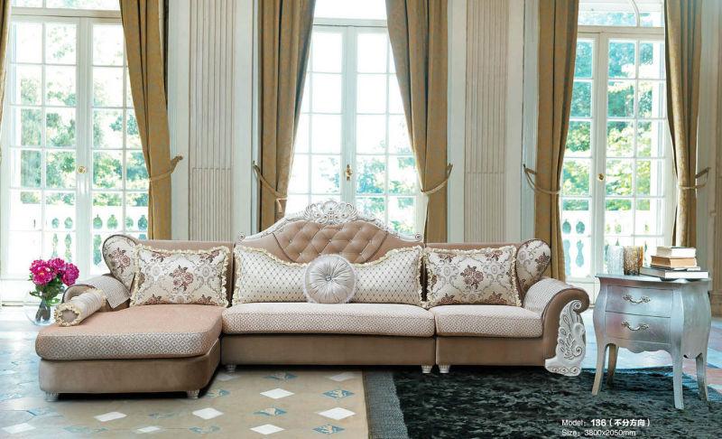 Europe Style Fabric Sofa, New Classic Fabric Sofa (316)
