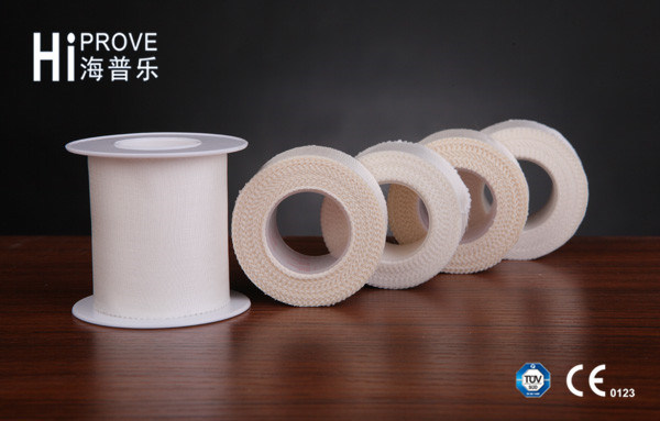 Hot-Sale Soft Breathable Waterproof Adhesive Medical Silk Tape Plaster