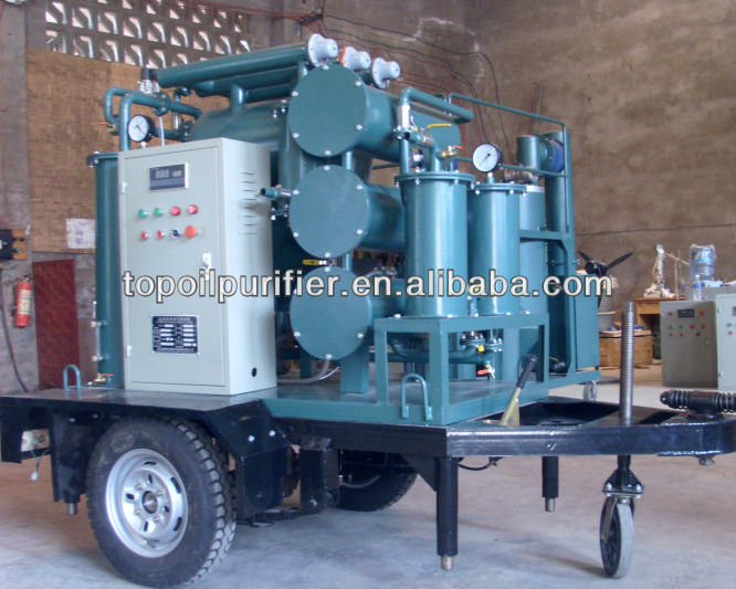 Top Special Design Portable Used Transformers Oil Purification Machine (ZYD-I)