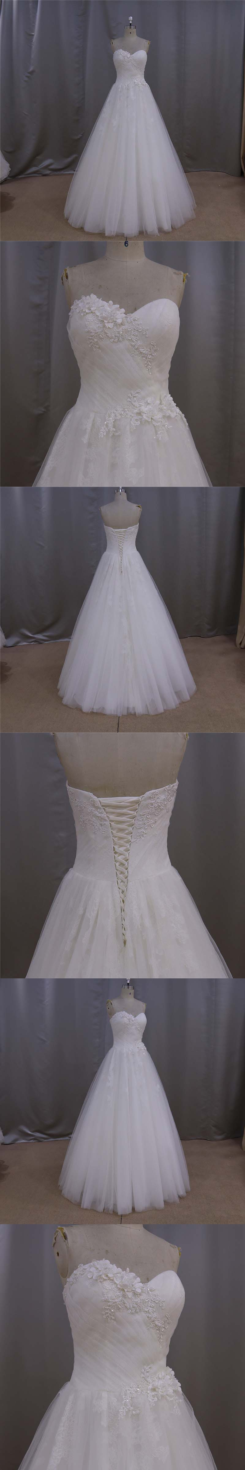 Simple Bridal Gown A Line