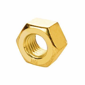 A563 Heavy Hexagon Head Zinc Plated Nut