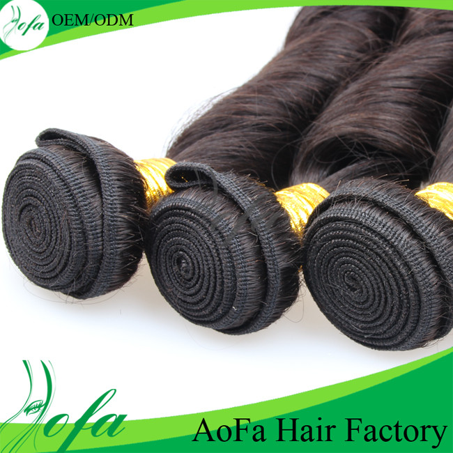 Hot Sales 100% Unprocessed Virgin Hair Remy Human Hair Extension