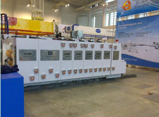 Fully Automatic Flexo Printing Slotting and Die-Cutting Machine