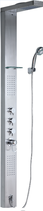 Thermostatic Faucets Stainless Steel Shower Panel (YP-053)
