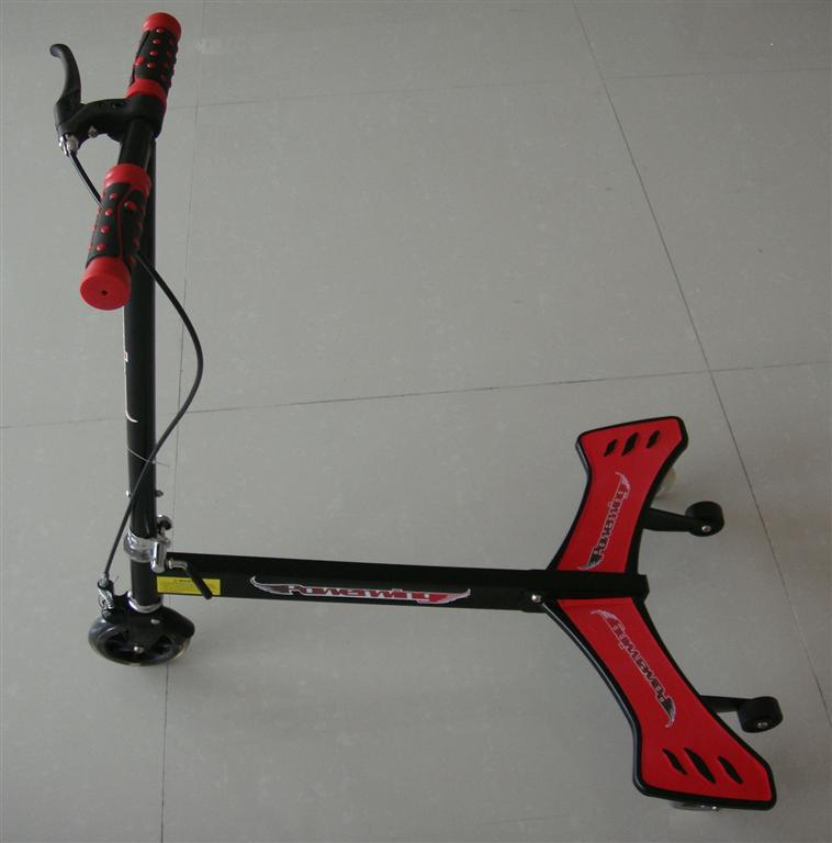 Children Swing Power Wing Kick Scooter with Three Wheel Et-Pw001
