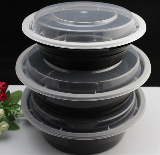 Microwave Hot Sale Plastic Disposable Food Packaging Container