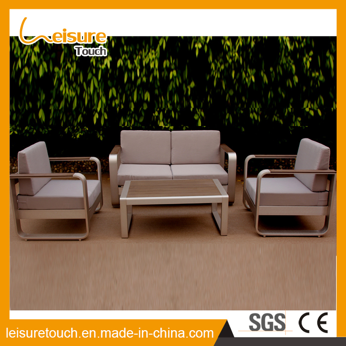 All Weather Modern Home Hotel Aluminum Table and Chair Leisure Lounge Patio Sofa Set Outdoor Garden Furniture