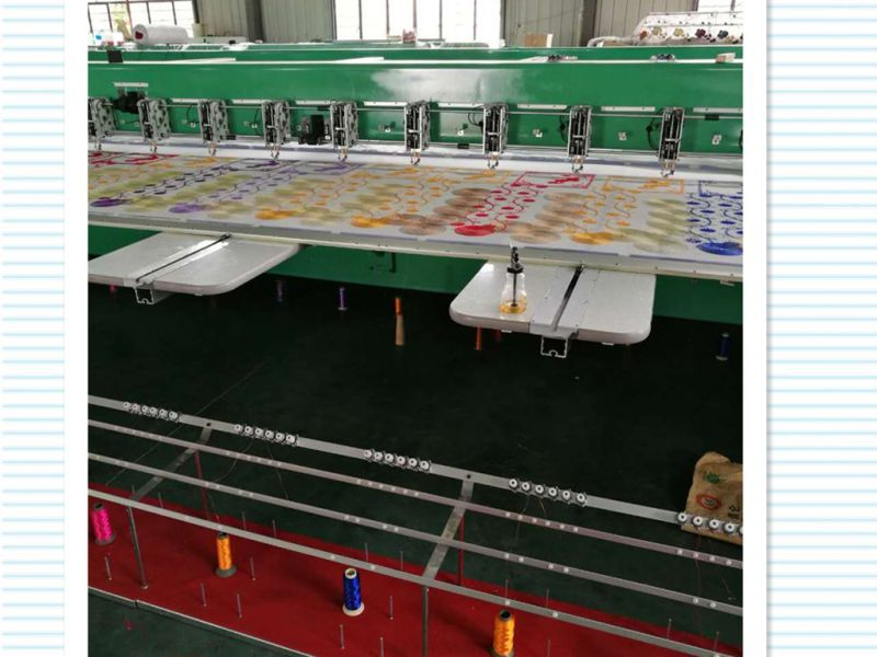 Chenille Embroidery Machine for Garment/Blanket/Curtain
