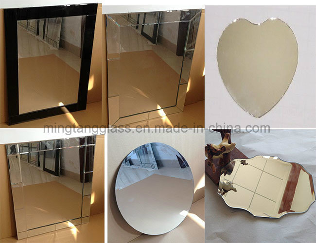 3mm Thick Table Stand Mirror for Hair Cutting