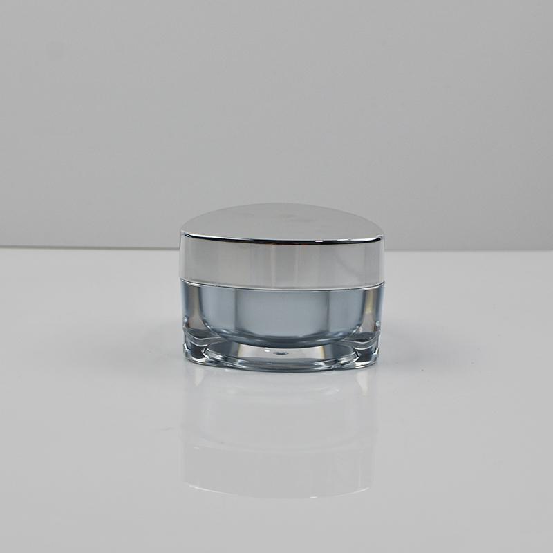 50ml Acrylic Jar Triangle Acrylic Cosmetic Jar