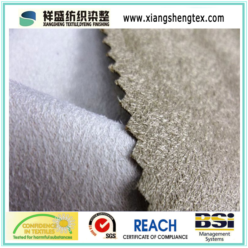 Polyester Synthetic Suede for Jacket (XSS-103A)