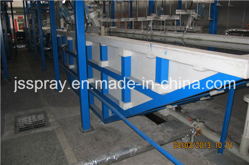 Professional Manufacturer Autophoresis Coating Line for Suspension