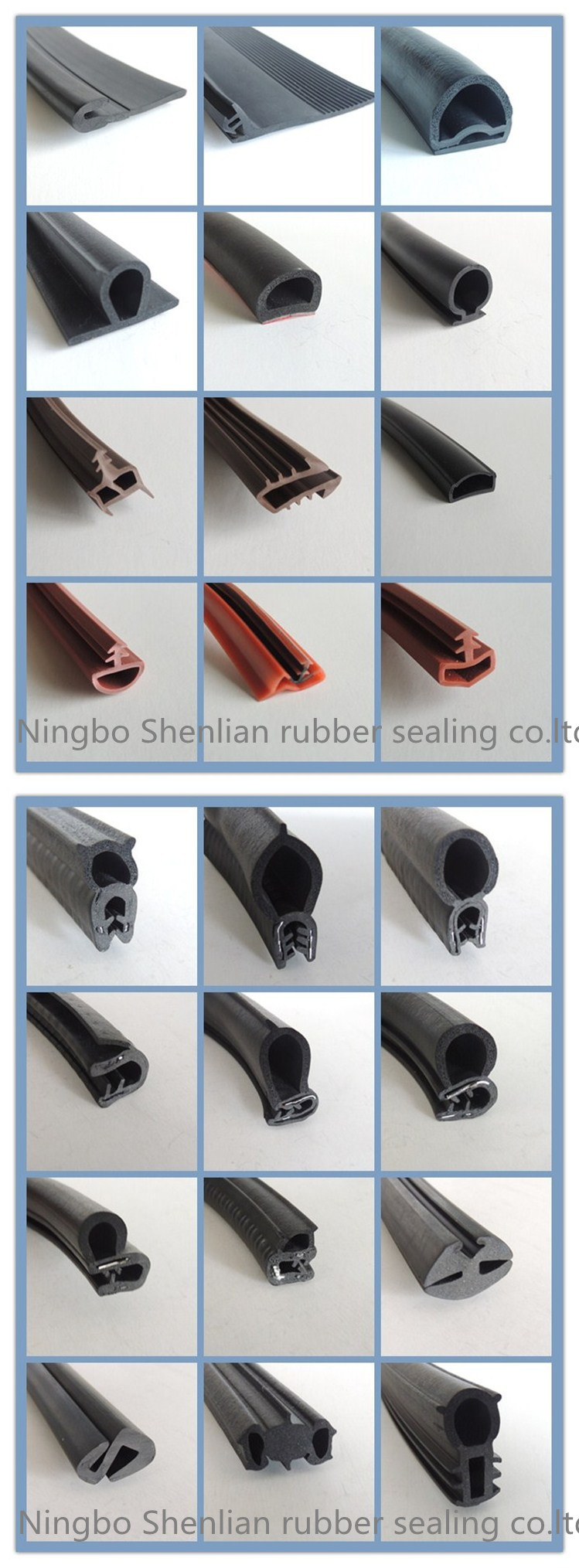 Heat Resistant Silicone Weather Strip for Door and Window