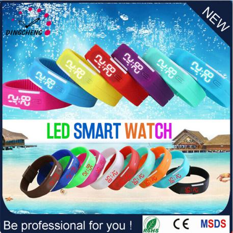 Hot Sale Altra Thin Vogue Touch Screen LED Wrist Promotional Watch as Promotional Gift (DC-1012)