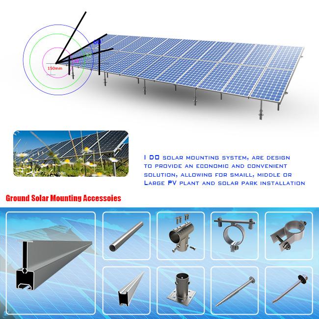 Economic Solar System Bracket System (HT6)