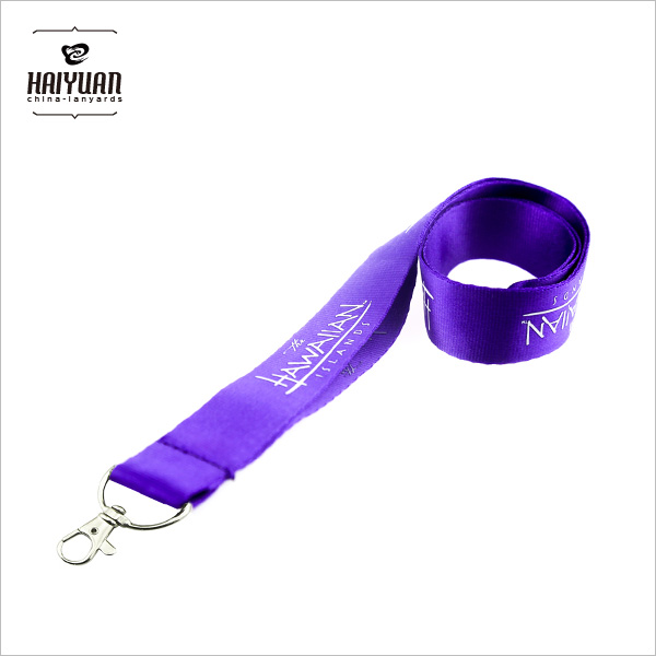 Factory Price Custom Nylon Beautiful Lanyard for ID Card