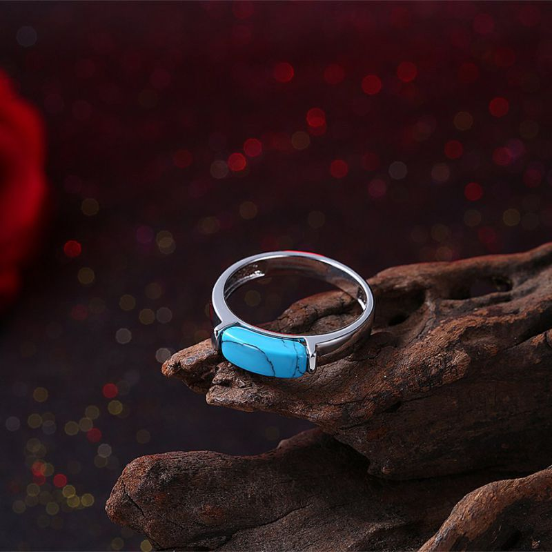 Hotsale Fashion Stone Material Rings for Girls