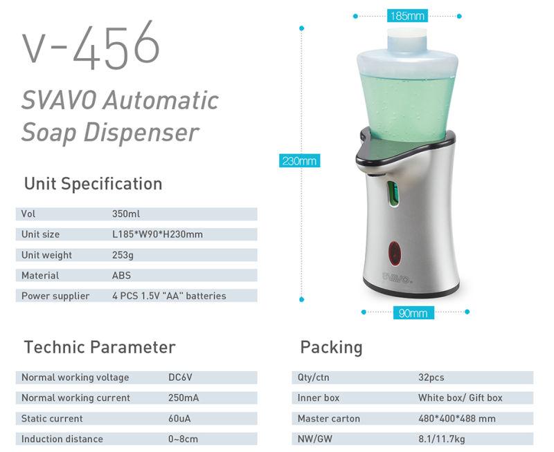 Auto-Induction Small Size Home Use Sensor Dispenser