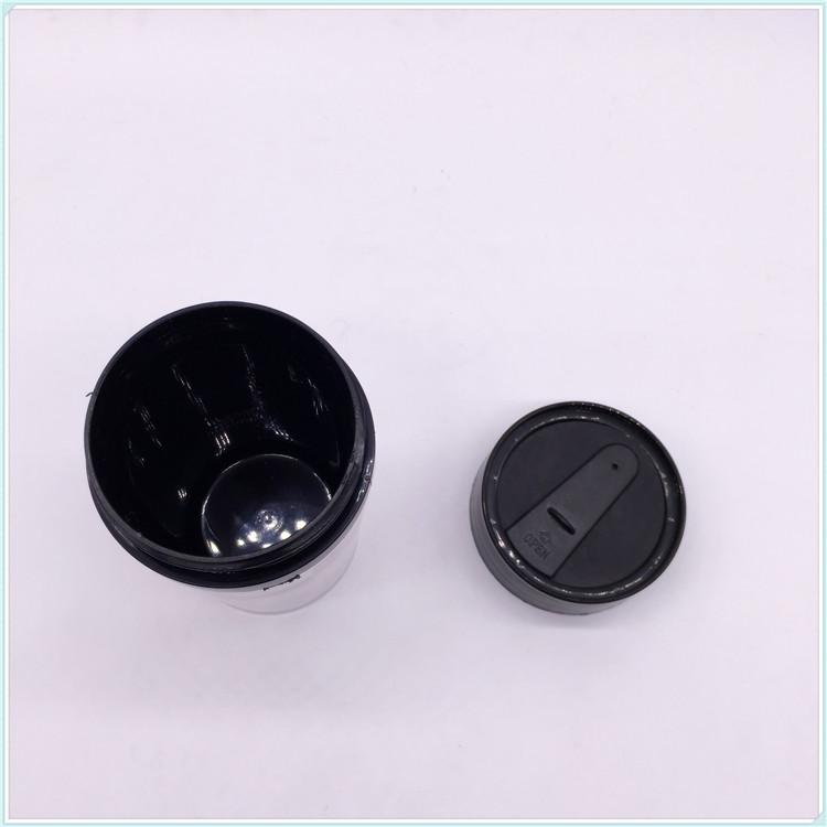 PP Eco Friendly BPA Free 16oz Double Wall Coffee Mug Plastic Cup