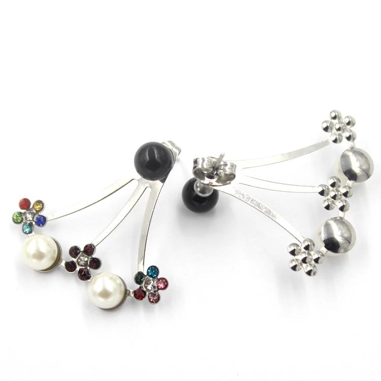 Fashion Flower Earrings Jewelry Women Earring Charm Ladies Stud Earrings
