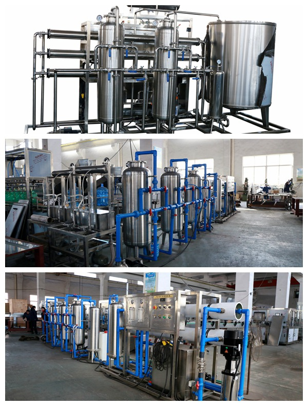 Pure Water Treatment Device with RO System