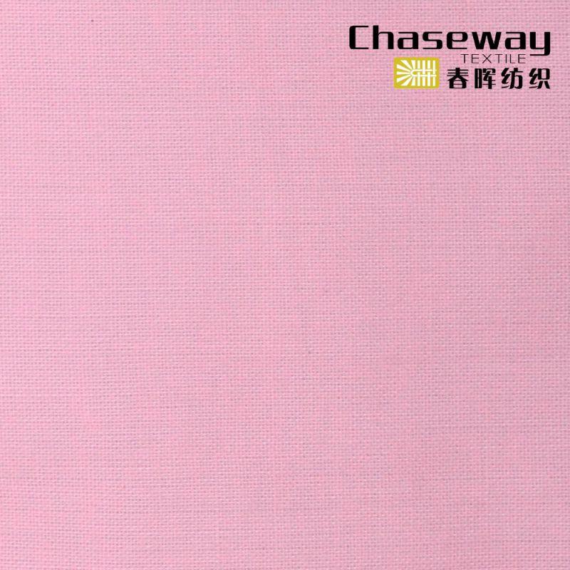 95%Cotton/5%Spandex Slub Plain Fabric with Stretch Linen Texture