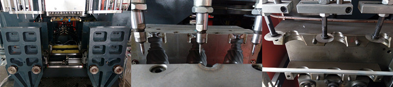 Pneumatic System Plastic Extruder Blow Molding Machine