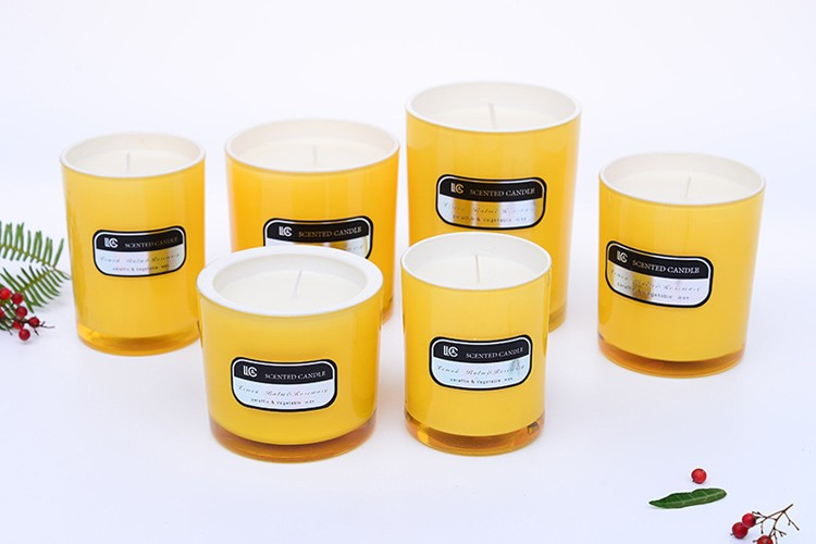 Fragrance Cup Glass Candle