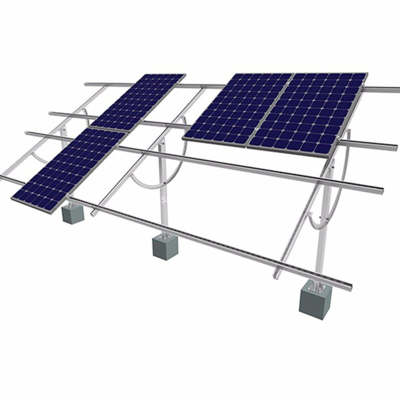 On grid solar system for home brackets