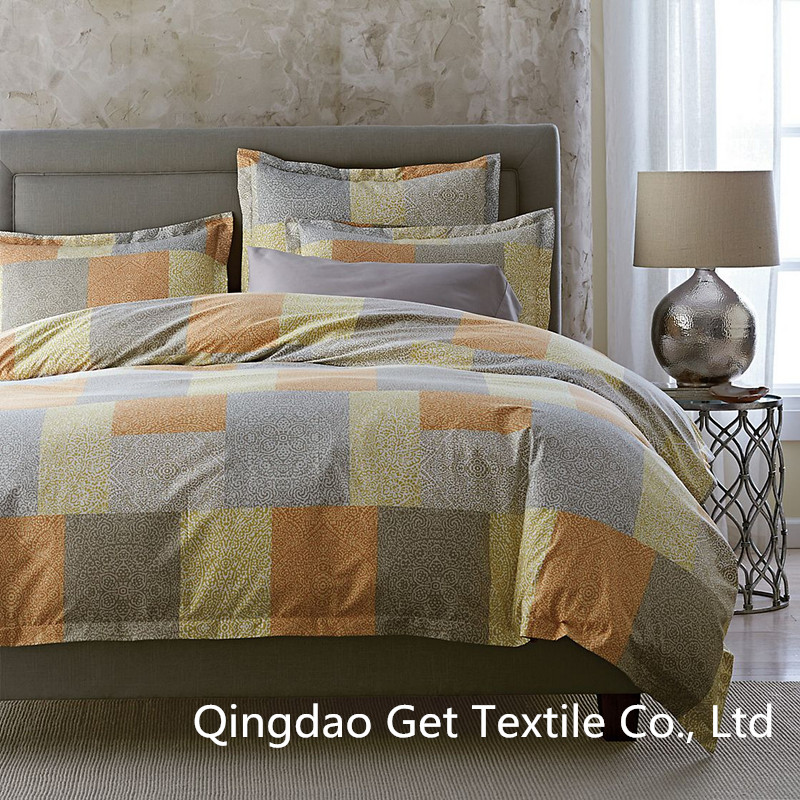 Squares 100% Cotton/ Polyester Comfortable Bedding Sets 2016
