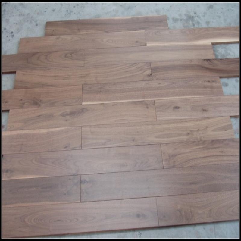 Prefinished Solid American Walnut Hardwood Flooring