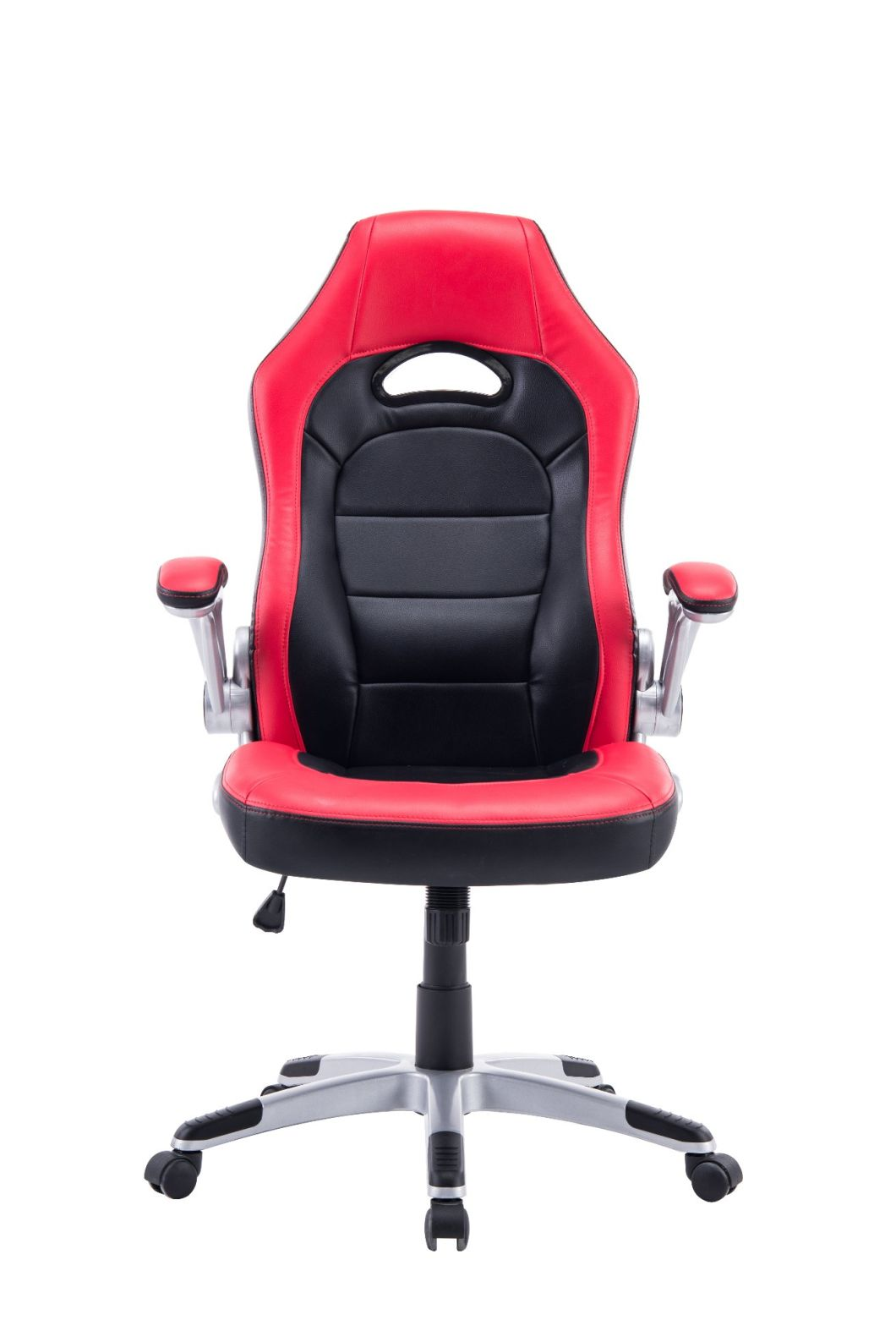 Cheap Factory Wholesale Adjustable Computer Office Black High PU Chair for Sale