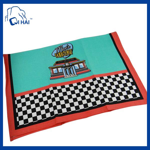 Cotton Promotion Gifts Kitchen Towel (QHKC77434)