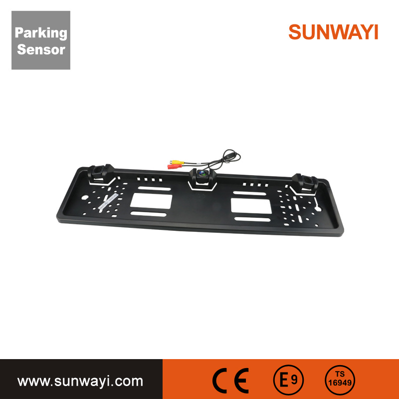 Auto Parts Video Parking Sensor for Europe Licence Plate Car Parking System