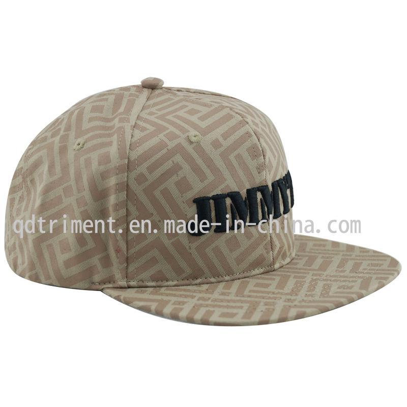 New Cotton Twill Era Flat Bill Baseball Sport Cap (TMFL6459)