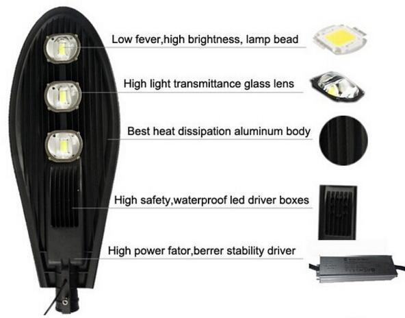 2017 60W120W 180W5years Warranty Top Quality Solar Power LED Street Light UL/Dlc/Ce/SAA Approved LED Parking Lot Light