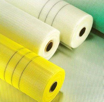 white fiberglass mesh