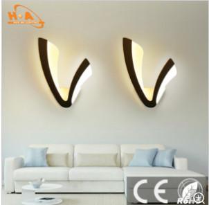 European Interior Decorative Lighting Acrylic Wall Lamp