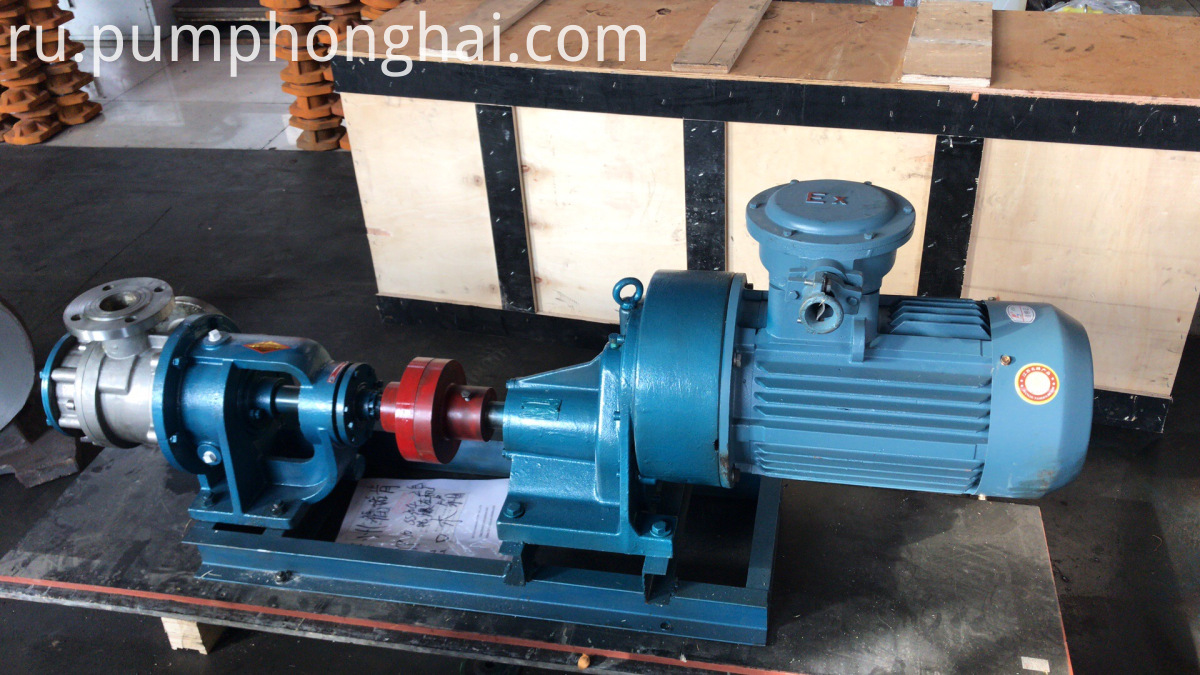 high viscosity gear pump