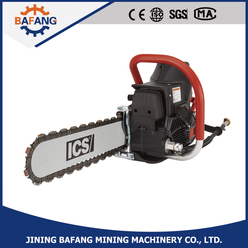 Pneumatic Diamond Chain Saw for Stone Cutting