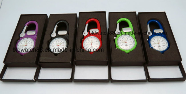Men's Hanging Watches Belt Clip on Watch Fob