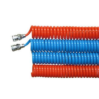 Low Price High Quality Pneumatic Line PU Spiral Hose