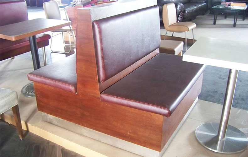 High Quality Wooden Dining Sofa with Factory Price