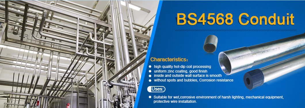 G. I. BS Standard Class 3 Welded Steel Pipes