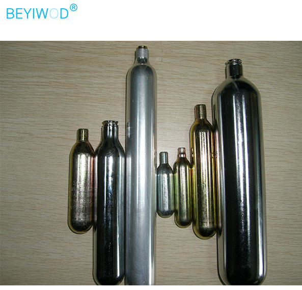 99.999% CO2 Cartridges Mini CO2 Cylinder Used in Beverage/Medical