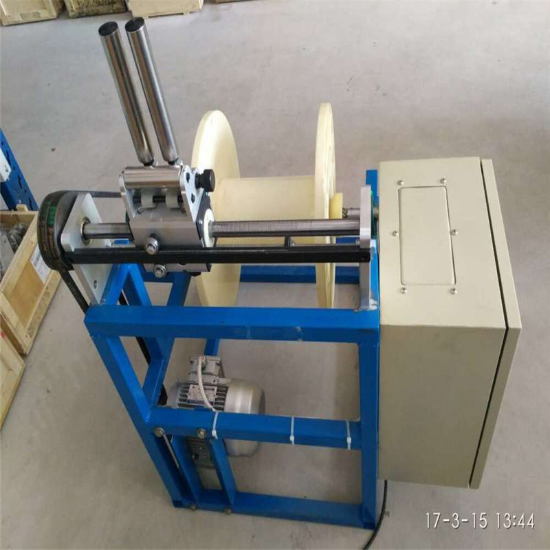 Automatic Coiling Packing Machine Wire Cable Stripping Machine Take up Machine