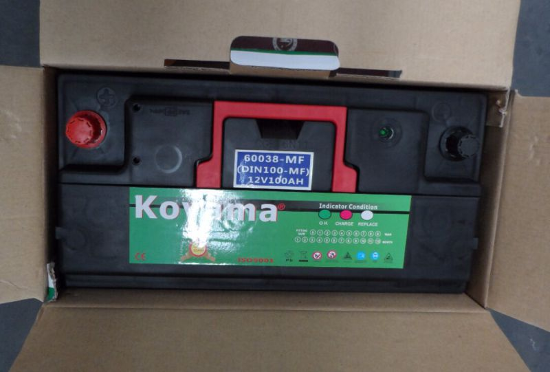 Koyama 12V 100ah Mf Car Truck Battery DIN100