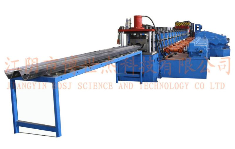 Aluminium Coil Machine Highway Guardrail Roll Forming Machine