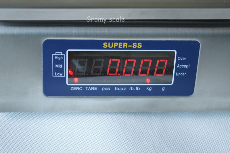 Stainless Steel IP68 Waterproof Digital Electronic Weighing Scale 30kg