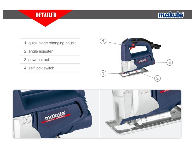 Makute Power Jig Saw 55mm Saw Blade